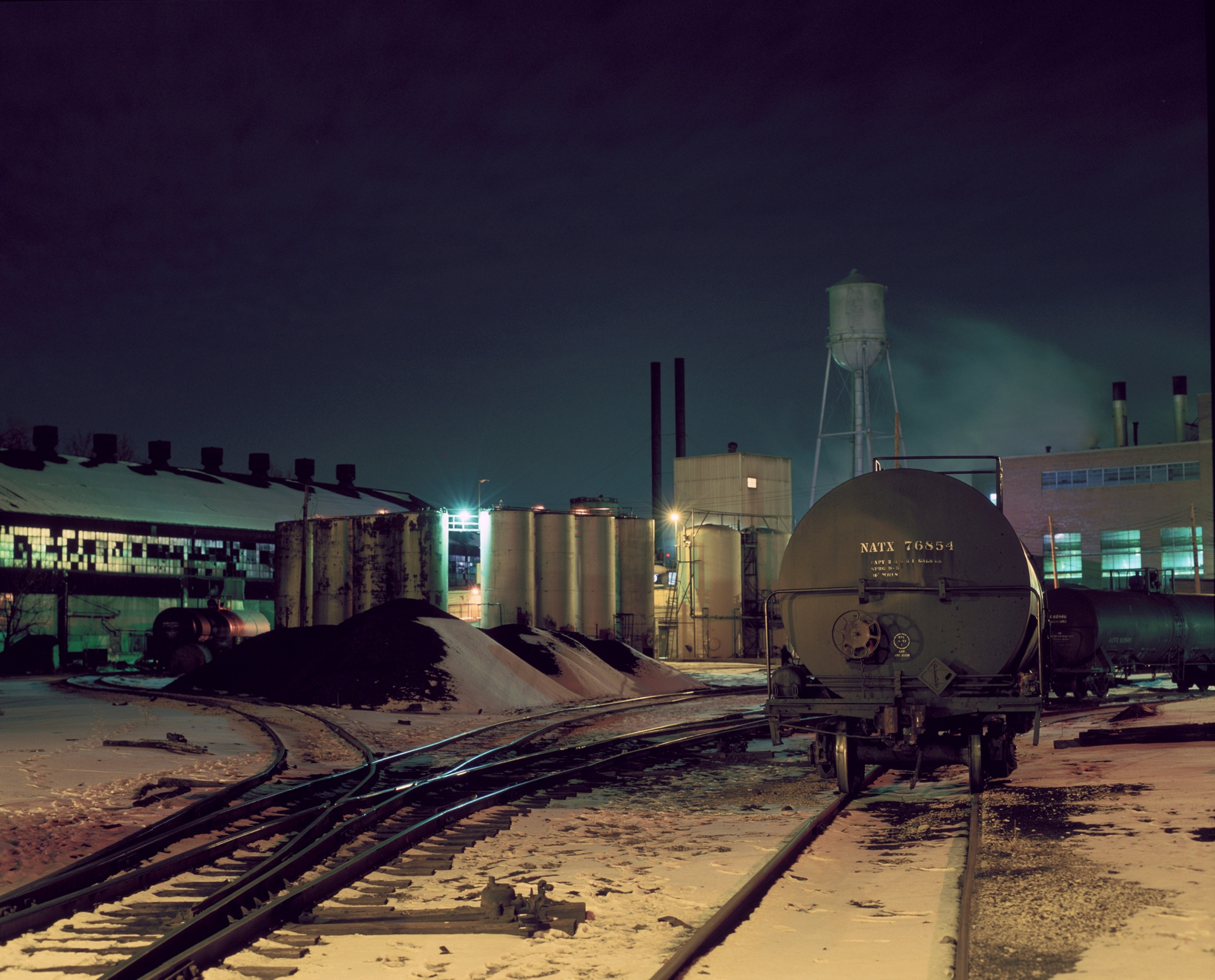 Industrial Railyard.